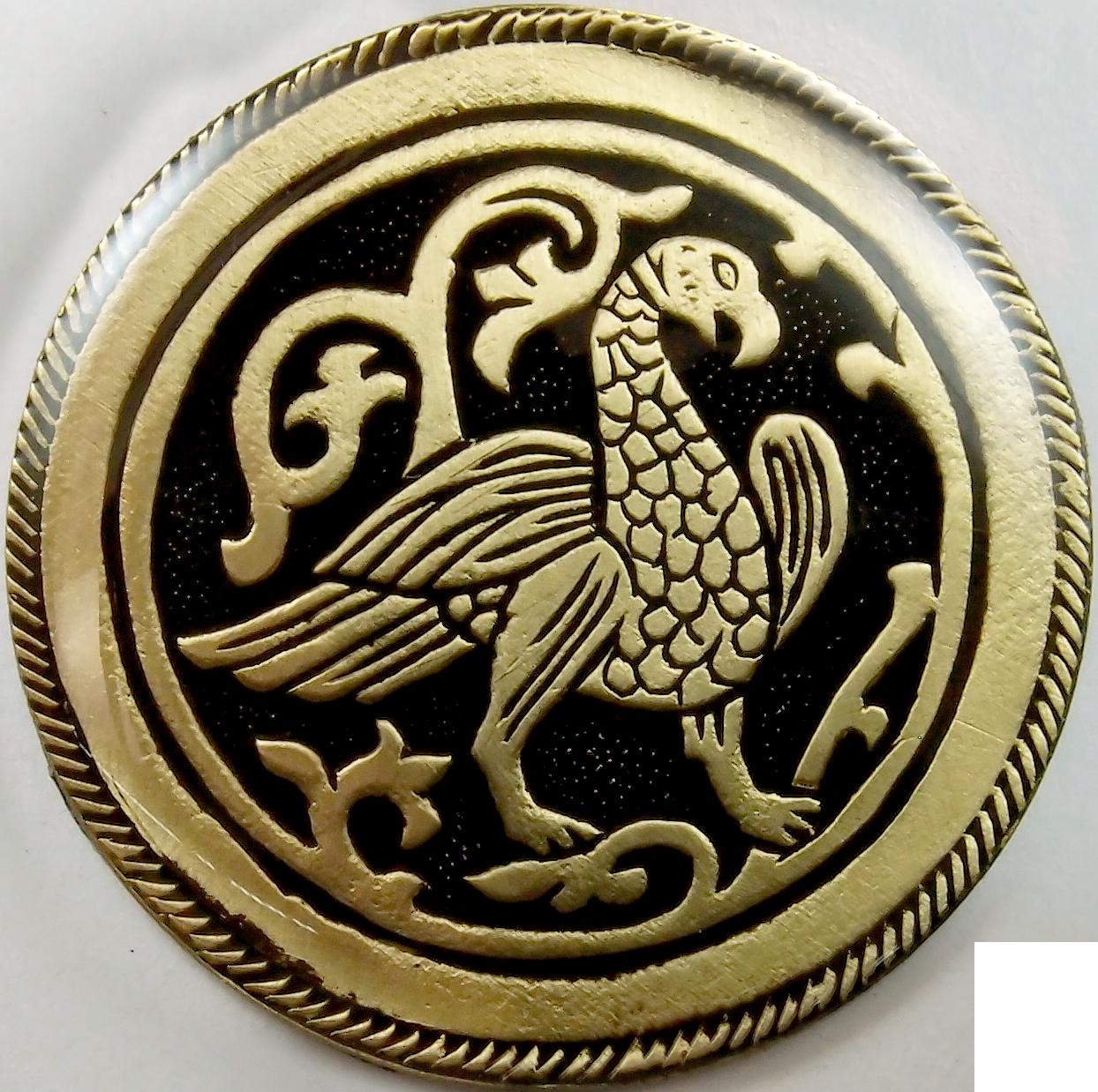 Магнит «Суздальская птица»
