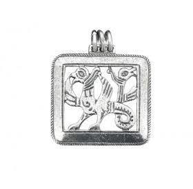 Подвеска прорезная «Двуглавый грифон»