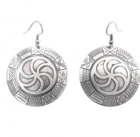 "Earrings ""Ancient Slavic calendar"""
