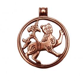 Подвеска прорезная «Могучий лев»