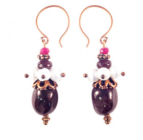 "Earrings ""Martha Posadnitsa"""