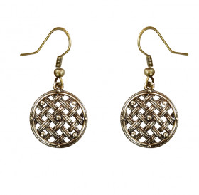"Earrings ""Sieve"""