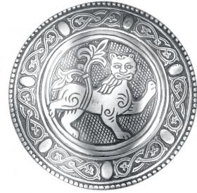Фибула накладная «Могучий лев»