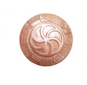 """Copper pyatak """"Old Slavic calendar"""""""
