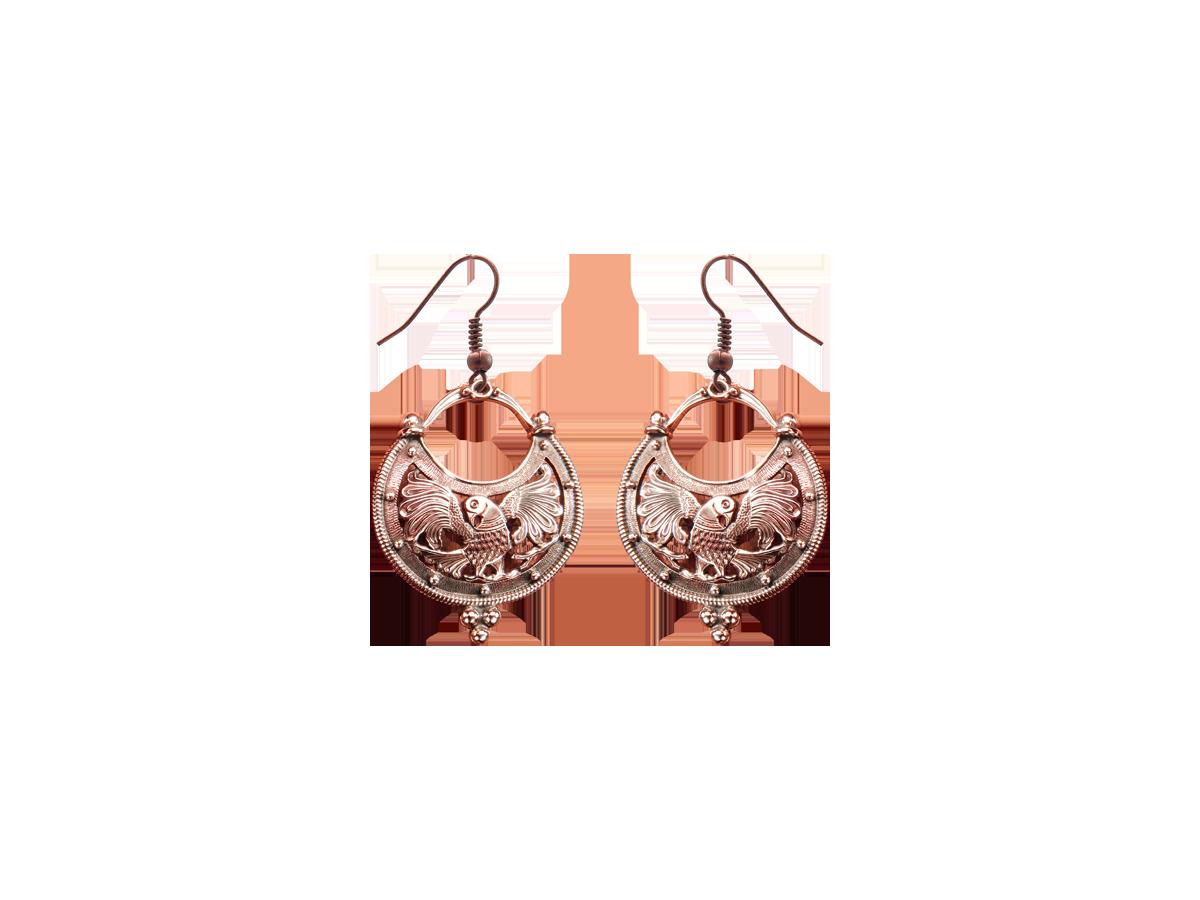 """Earrings """"Firebird"""""""