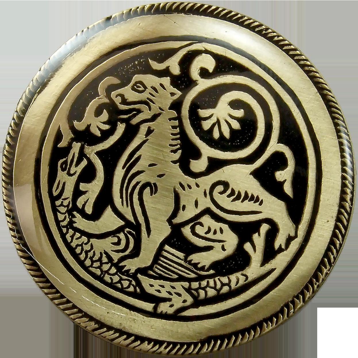 Магнит «Суздальский лев»