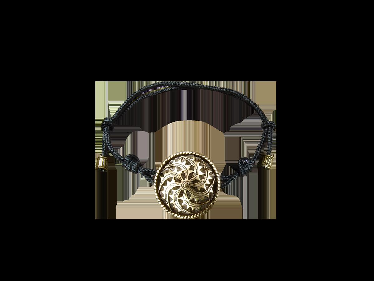 Браслет-шнурок «Левосторонний огненный коловрат»